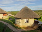 Round huts Addo main camp