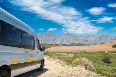 SouthAfrica-Experience tour vehicle in the winelands