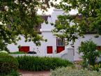 Cape dutch house in Stellenbosch