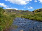 Hiking Drakensberg mountains